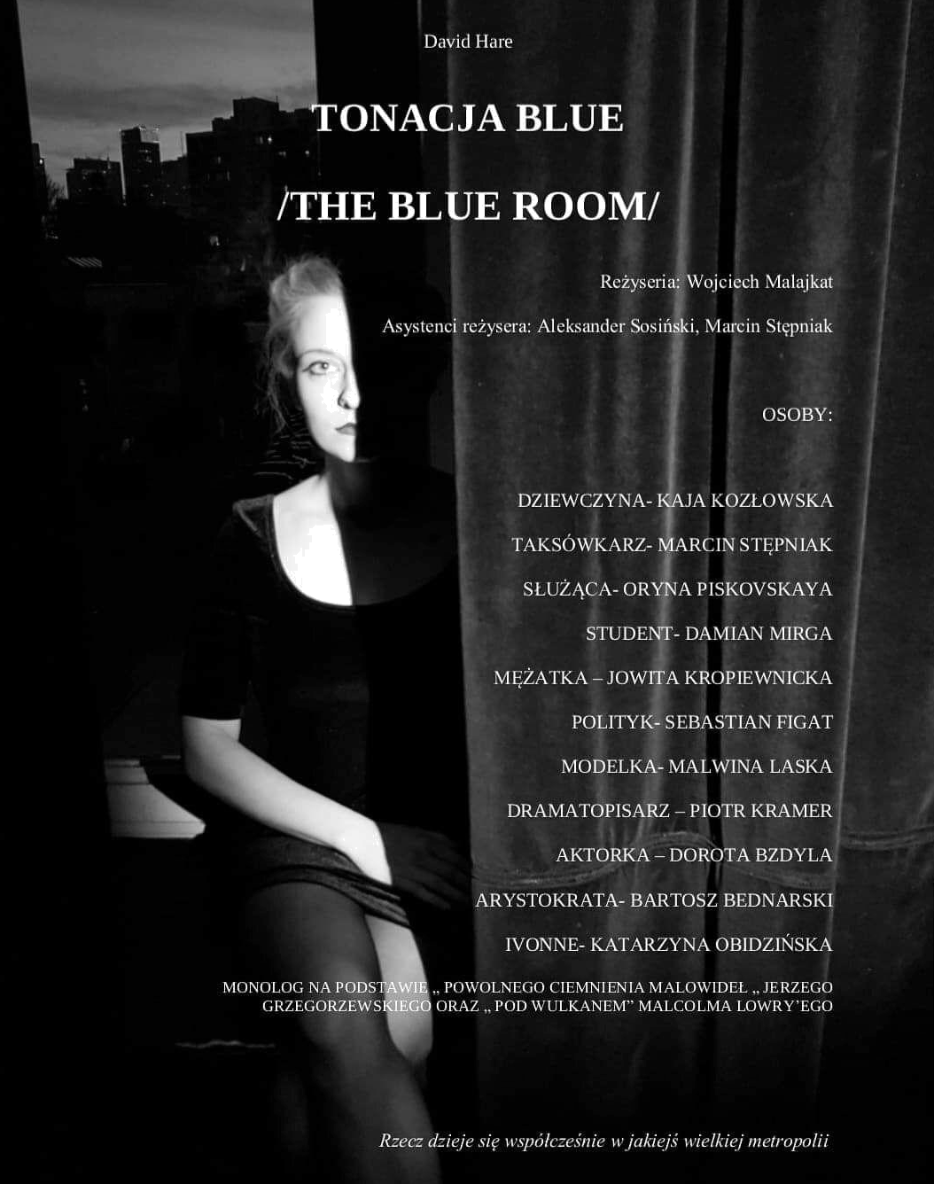 THE BLUE ROOM, David Hare