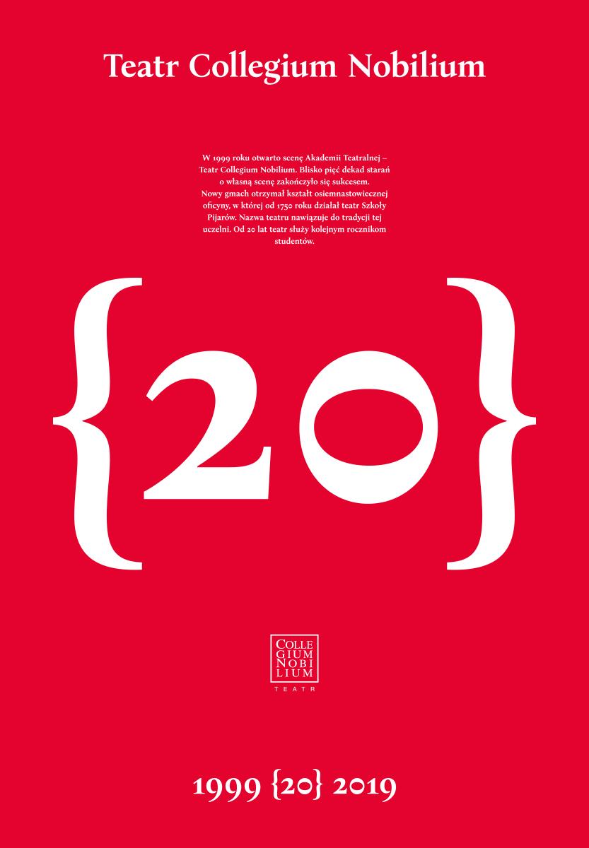 20-lecie Teatru Collegium Nobilium – Instalacja